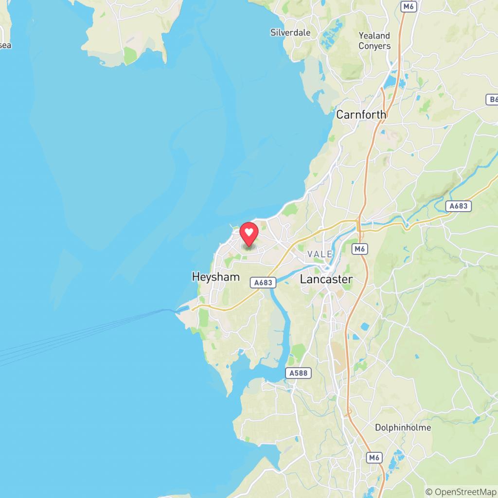 Map showing the location of Venture Caravan Park